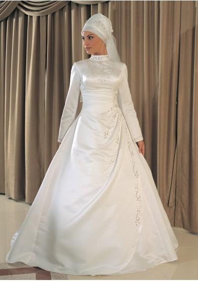 مدل لباس عروس اسلامی