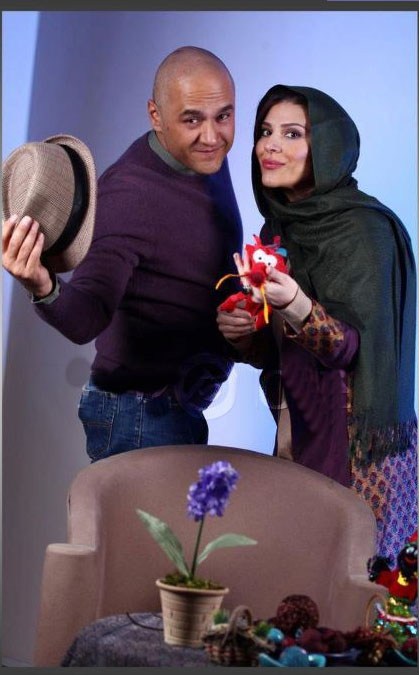 عکسهای عید نوروز رامبد جوان و همسرش سحر دولتشاهی