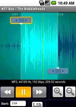 ساخت زنگ گوشی با Ringtone Maker Pro v1.2.0
