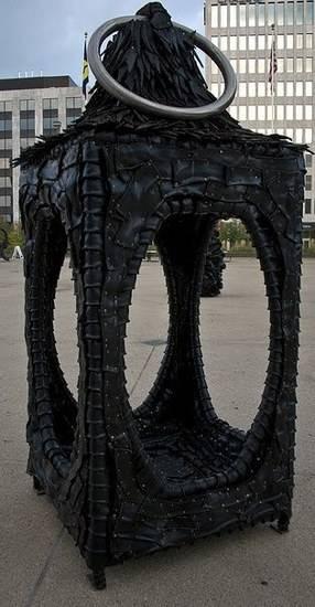 مجسمه لاستیکی
