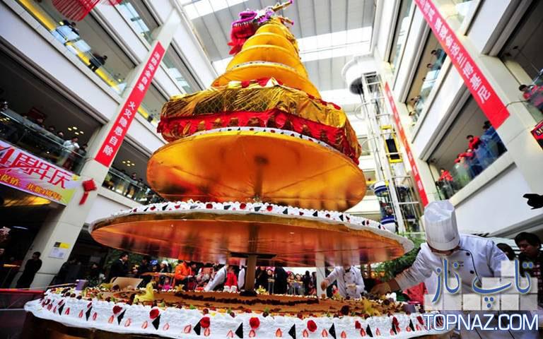 بزرگترین کیک دنیا