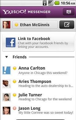 مسنجر محبوب Yahoo! Messenger v1.6.0 آندروید