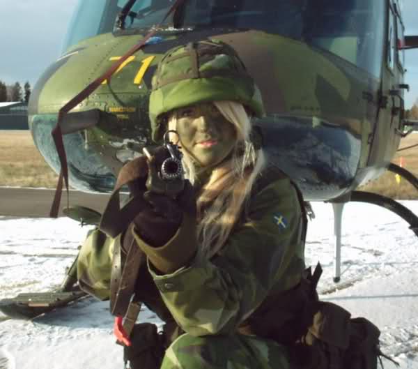 دختر سوئد