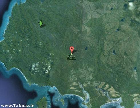 پارک ملی تانتاکول در شیلی