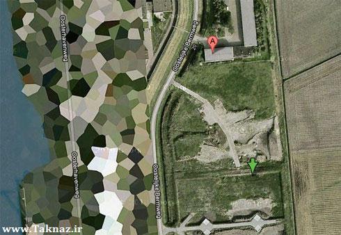 10 مکانی که گوگل نشان نمیدهد+عکس