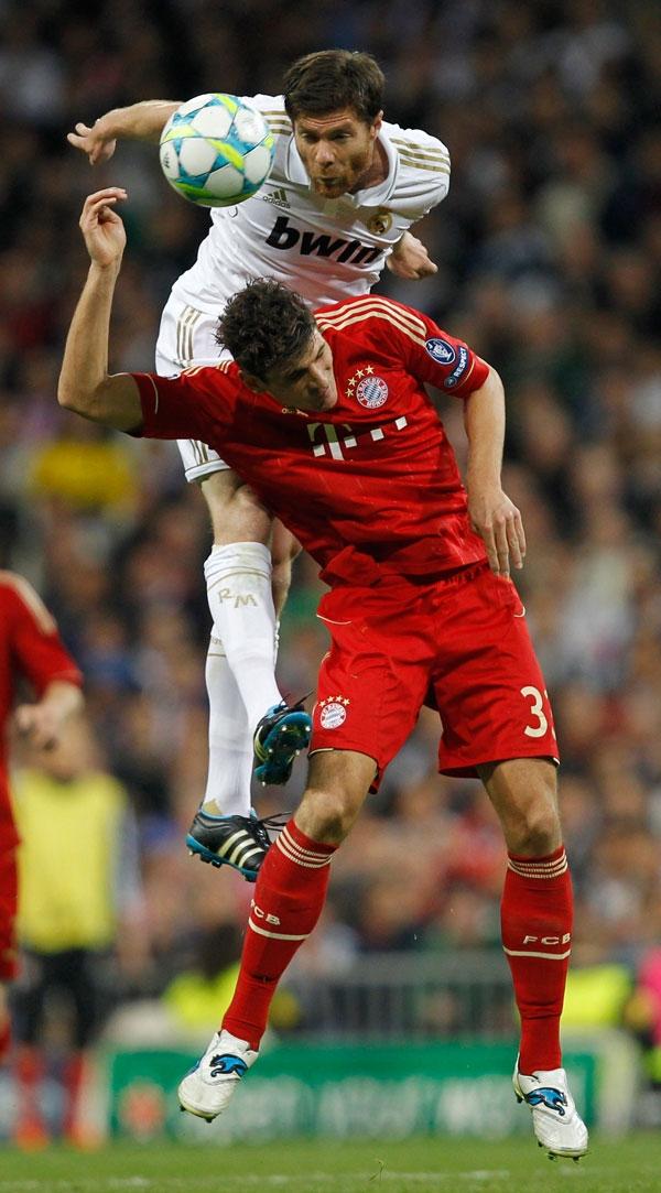 گزارش و عکس از شکست رئال مادرید در برابر بایرن مونیخ