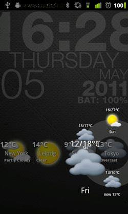دانلود نرم افزار پیش بینی آب و هوا Circle Weather v1.5.6 – آندروید