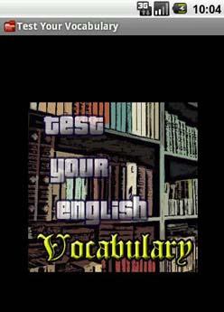 یادگیری لغات انگلیسی با Test Your English Vocabulary v1.1.1