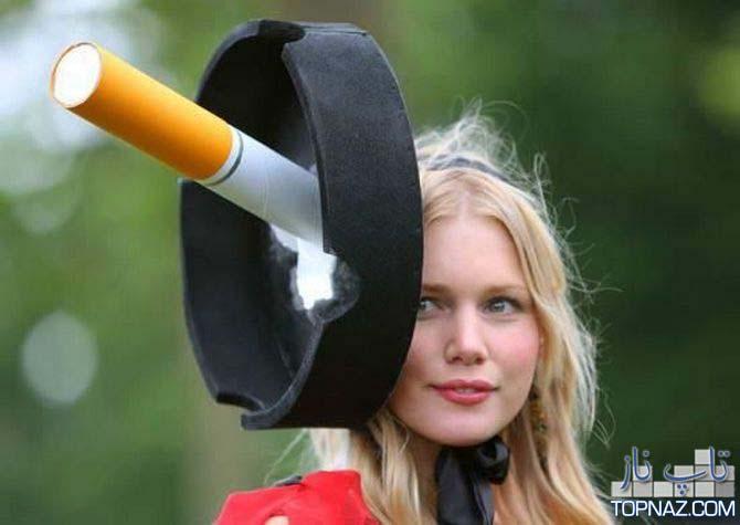 عجیب ترین و خنده دار ترین مدلهای کلاه (16 عکس)