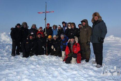 ازدواج عجیب در قطب شمال