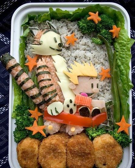 هنرنمایی با غذا