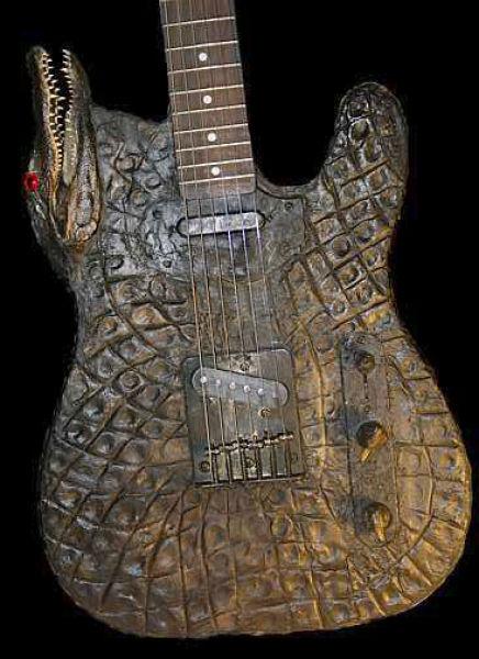 عجیب ترین و جالبترین گیتارها