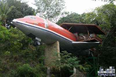 هواپیمای بوئینگی که هتلی زیبا شد