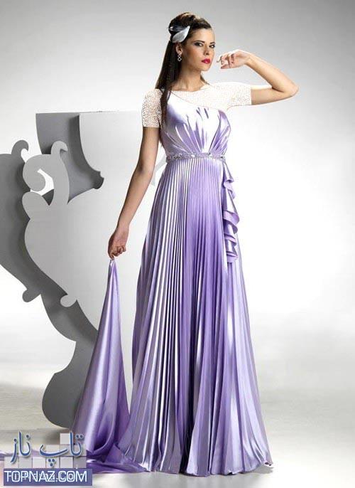عکس مدل لباس جشن عقد