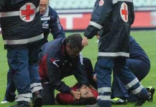 مرگ بازیکن جوان در لیگ ایتالیا+عکس