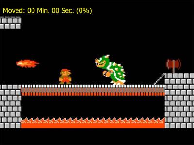 وقتی ماریو به سیم آخر بزند+کلیپ