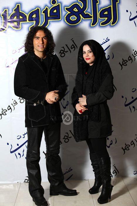 ملیکا شریفی نیا و رضا یزدانی(3عکس)