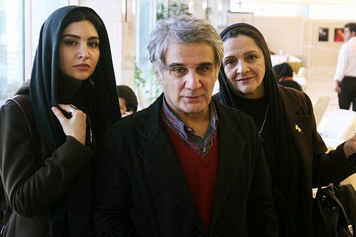 عکس مهدی هاشمی همسر و دخترش