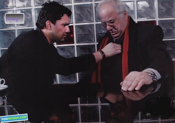 عکس حامد بهداد و ناصر ملک مطیعی کنار هم