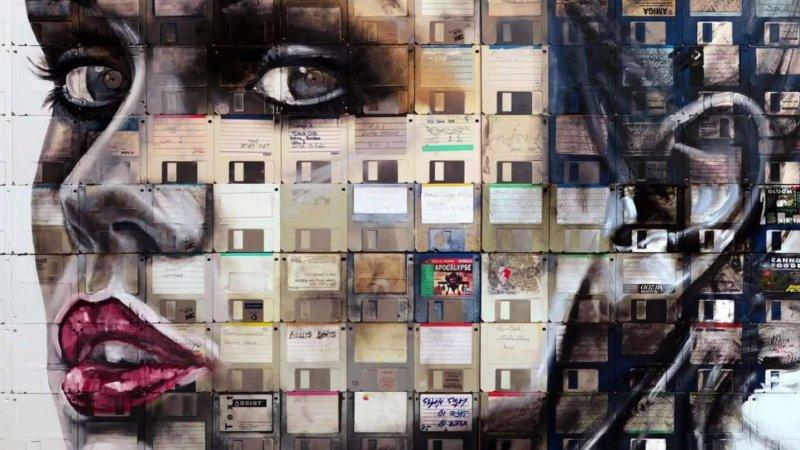 خلق تصاویر مختلف چهره برروی فلاپی دیسک