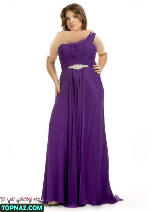 لباس زنانه سایز بزرگ 2012