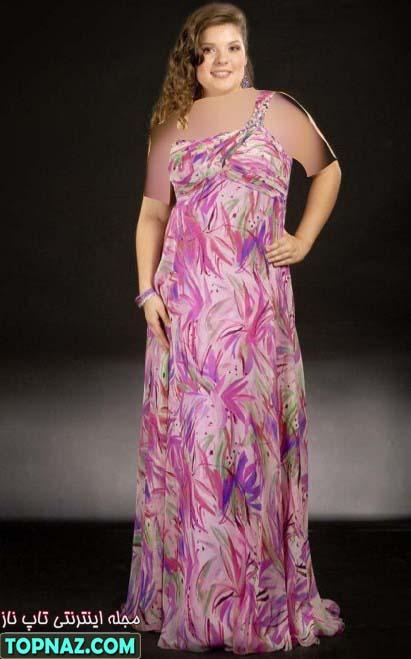 مدل جدید لباس مجلسی سایز ایکس لارج