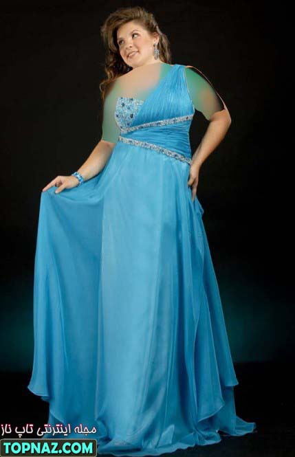 لباس شب زنانه سایز بزرگ