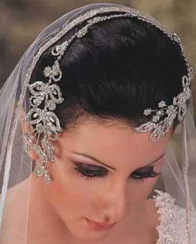 مدل های جدید تاج عروس