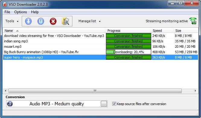 دانلود VSO Downloader Ultimate 2.8.1.4 – ذخیره ویدیوها و موزیک های آنلاین